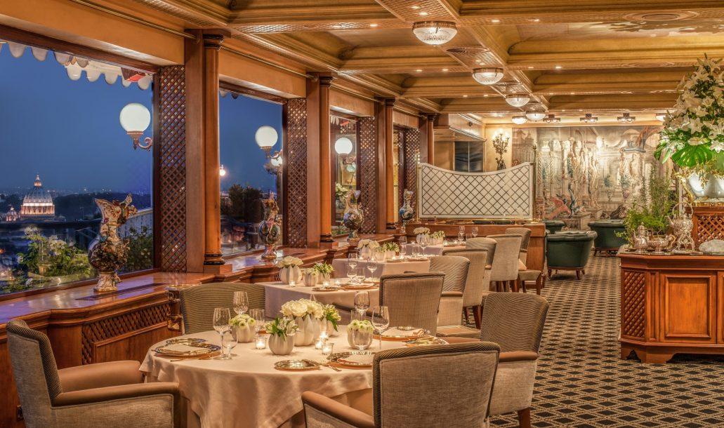 La Pergola Restaurant, Rome