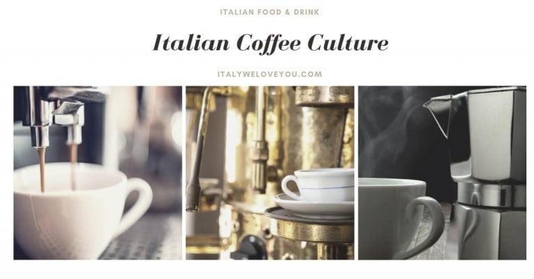 The Italian Coffee culture
