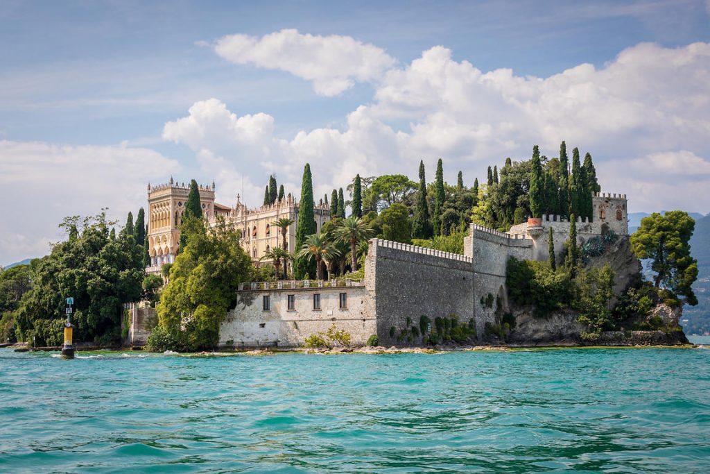 Garda island Italy