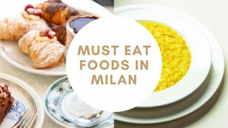 Foods In Milan