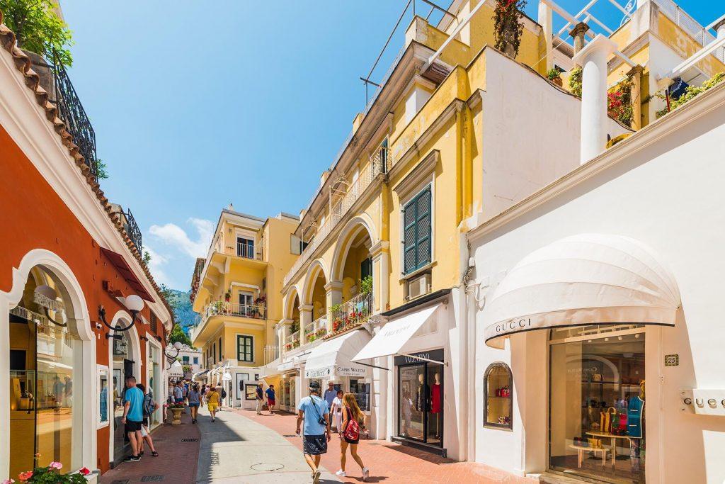 Via Camerelle, Capri, Italy