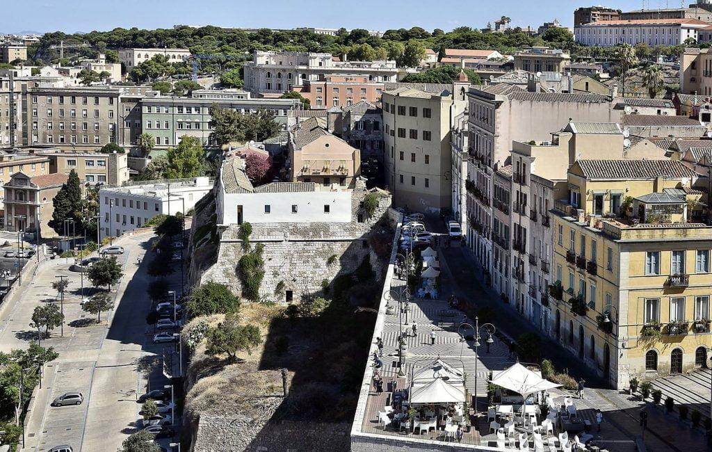 Cagliari's historic Castello