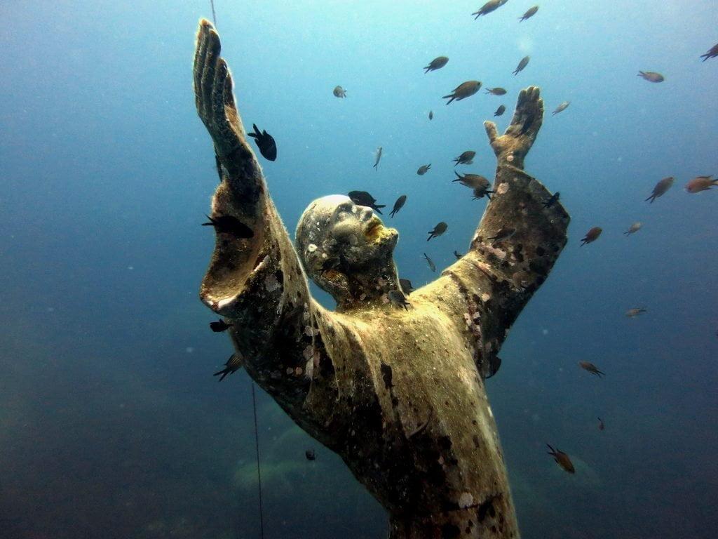 Christ of the Abyss, Portofino