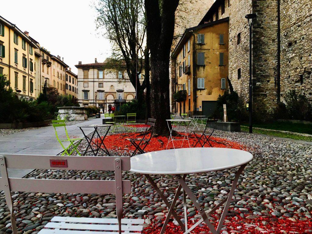 Piazza della Cittadella - Bergamo Alta