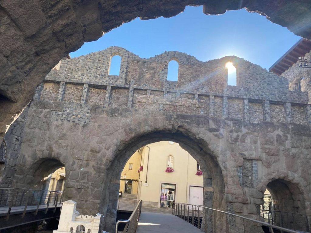 Porta Praetoria, Aosta