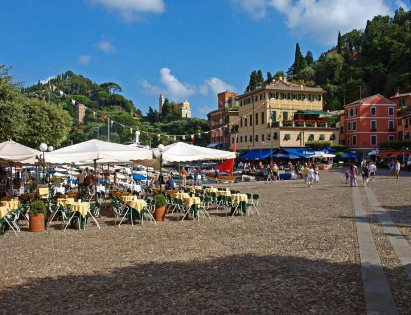 Portofino - Piazza Martiri dell'Olivetta