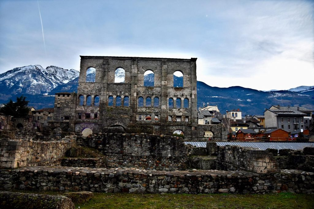 Roman Theater, Aosta