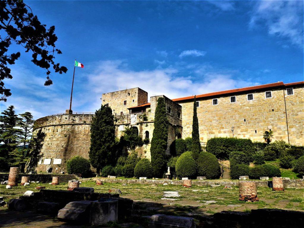 San Giusto Castle, Trieste, Italy