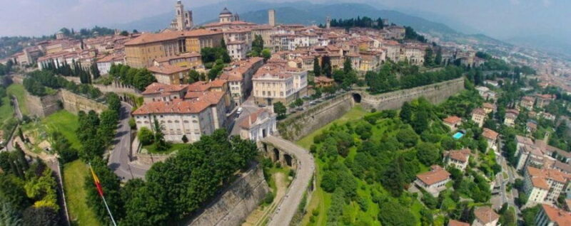 The Venetian walls of Bergamo