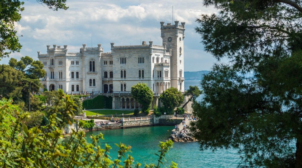 castello di Miramare,Trieste,Italy