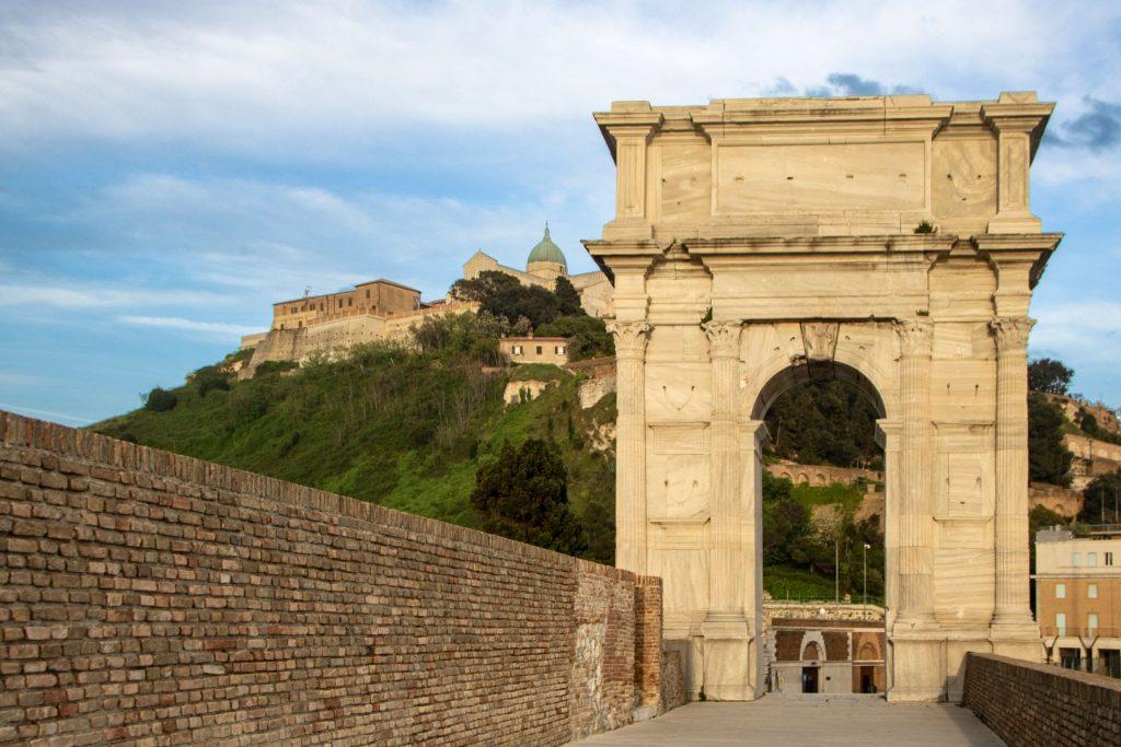Arch of Trajan, Ancona