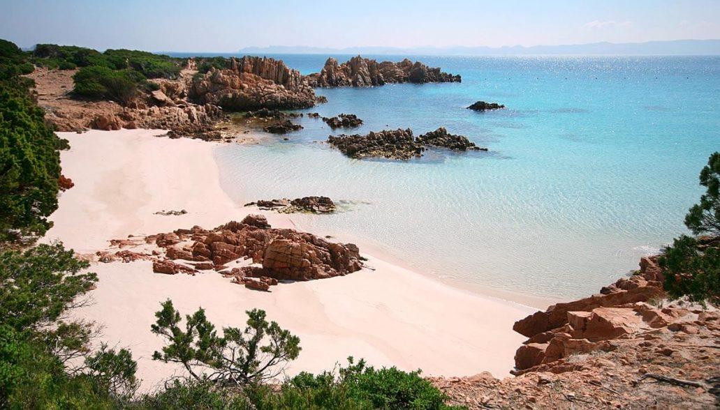 Budelli Pink Beach, Sardinia