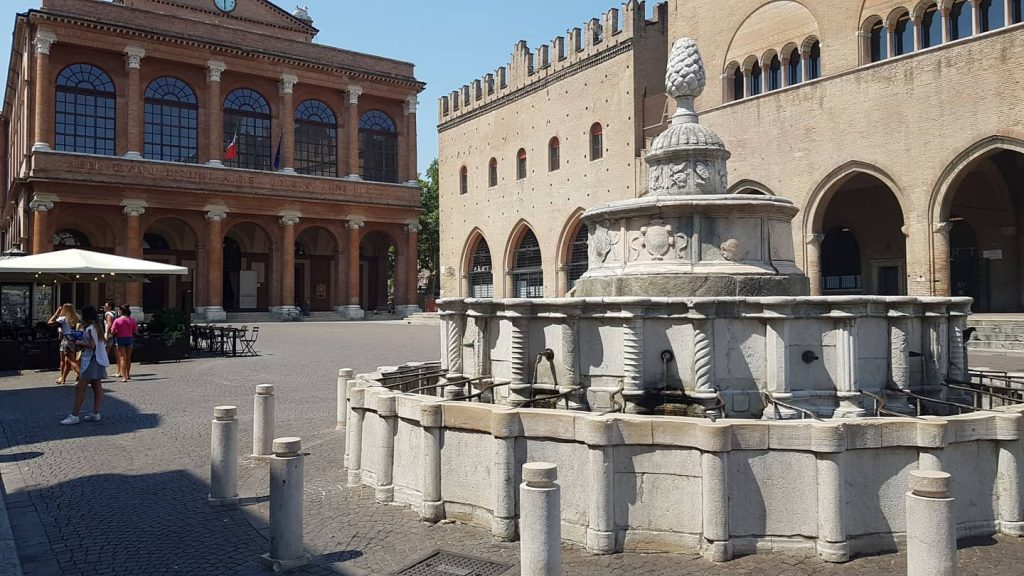 Piazza Cavour in Rimini