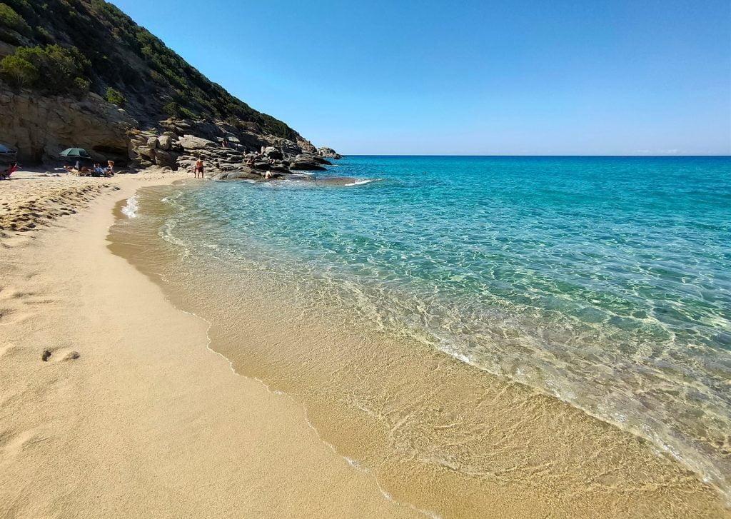 Solanas Beach, Sardinia