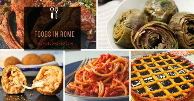 Foods in Rome