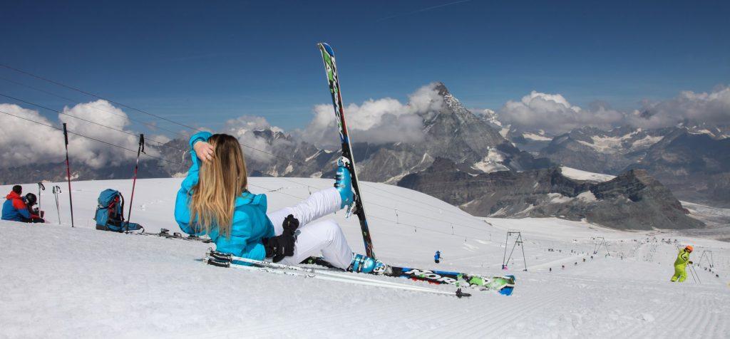 Breuil Cervinia ski resort