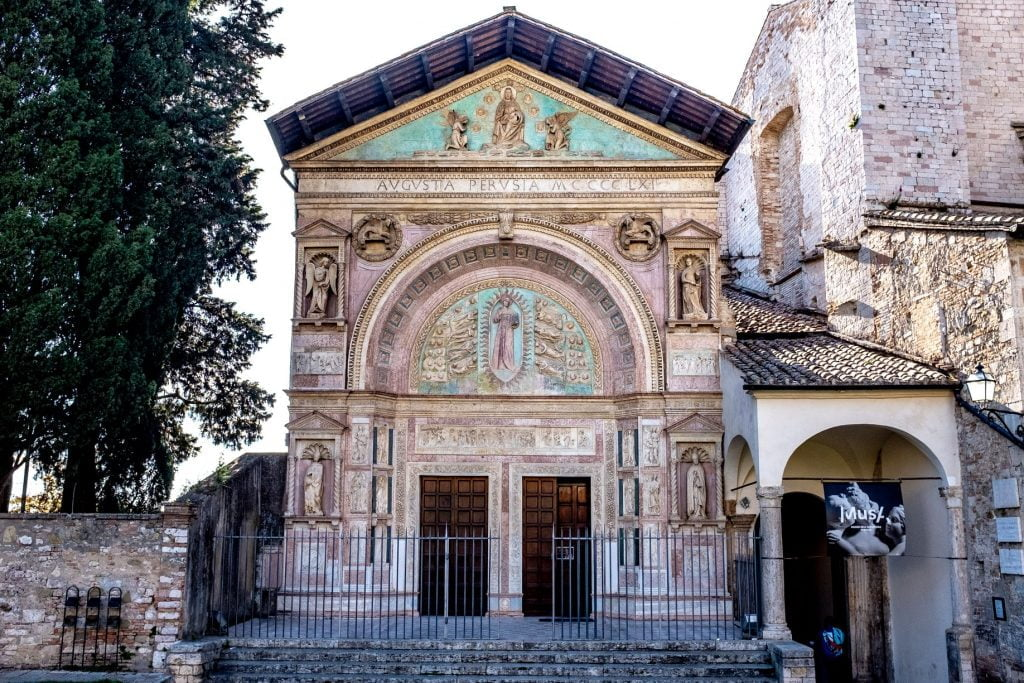 Oratorio di San Bernardino in piazza S.Francesco a Perugia