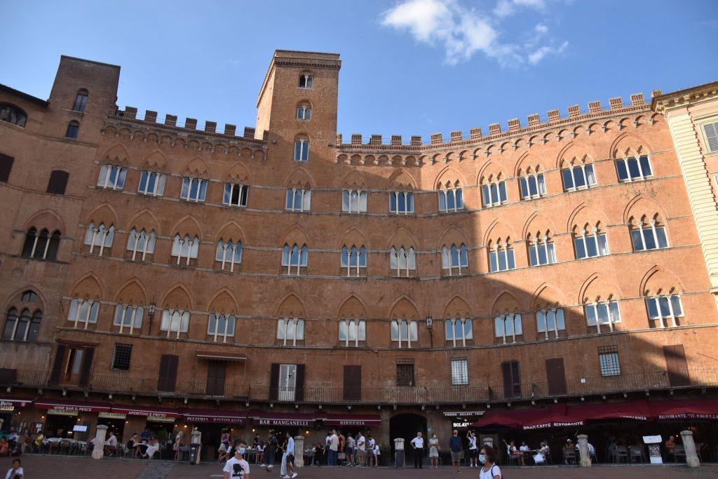 Sansedoni Palace, Siena ,Italy