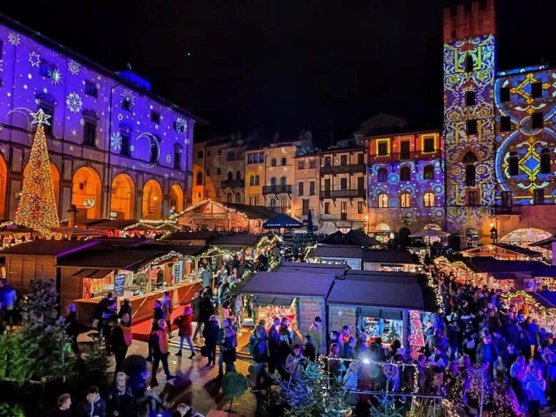 christmas in Arezzo Italy