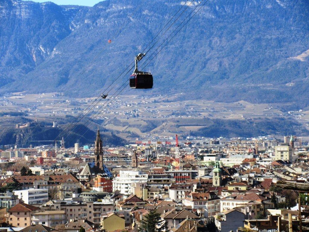 Colle cable car, Bolzano-Bozen