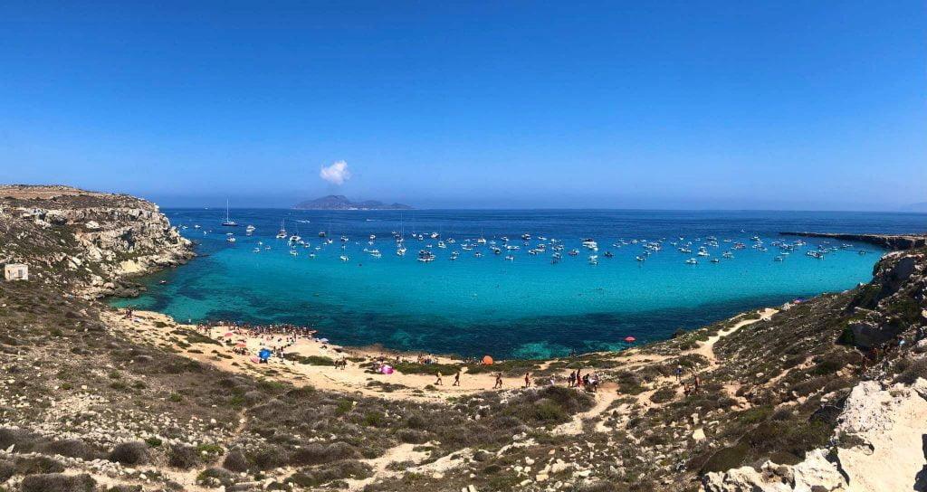 Cala Rossa (Favignana) Beach, Sicily