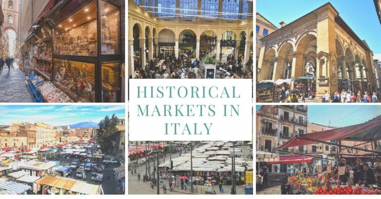 The 9 Most Famous Historic Markets in Italy