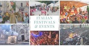 Italian Festivals & Events