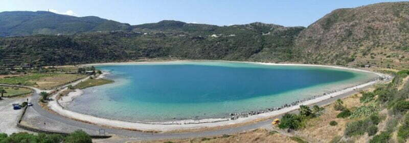 Lake Mirror of Venus (Pantelleria)