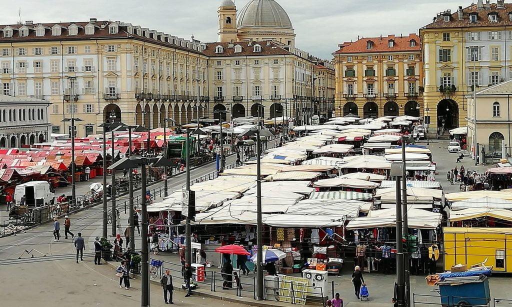 Porta Palazzo, Turin maket