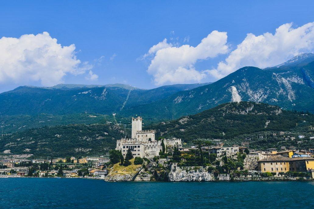Malcesine Castle in Italy