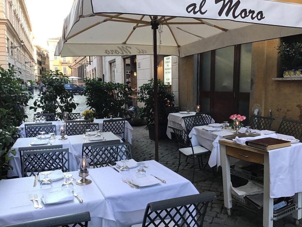 Al Moro Restaurant, Rome