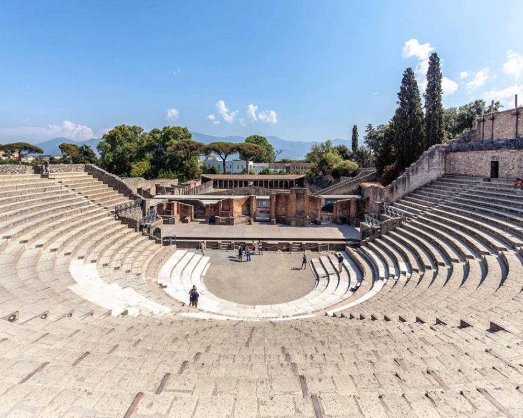 Pompeii Theaters