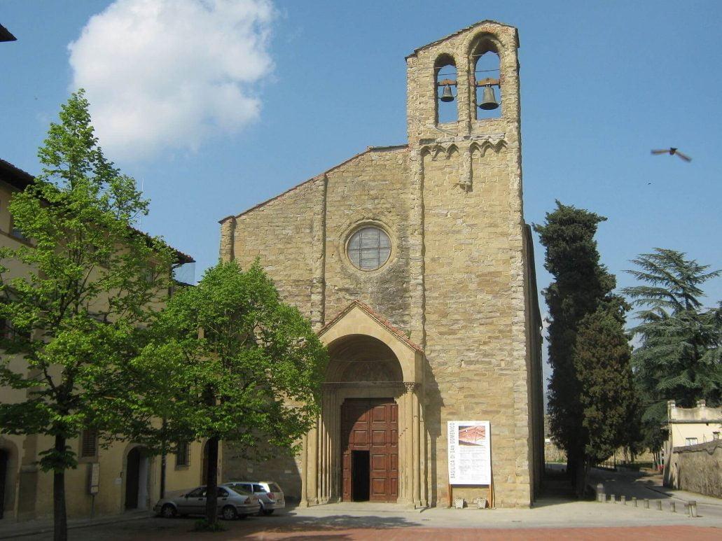 CHIESA DI SAN DOMENICO, in Piazza San Domenico ad Arezzo.