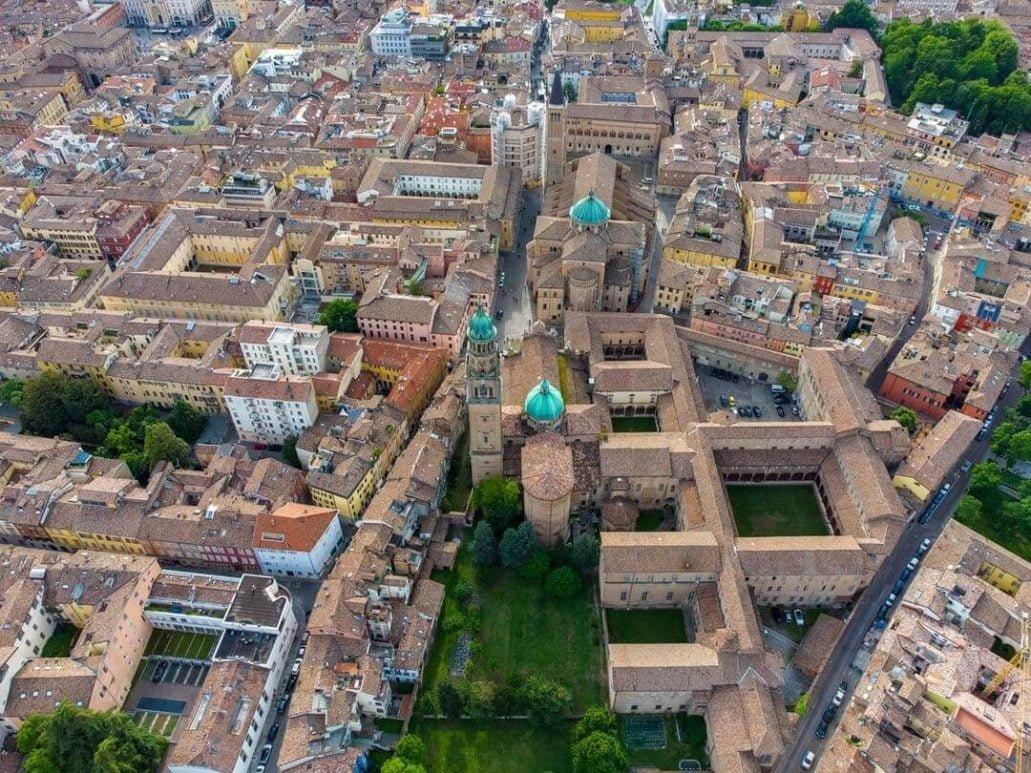 Parma, Vista dal'alto