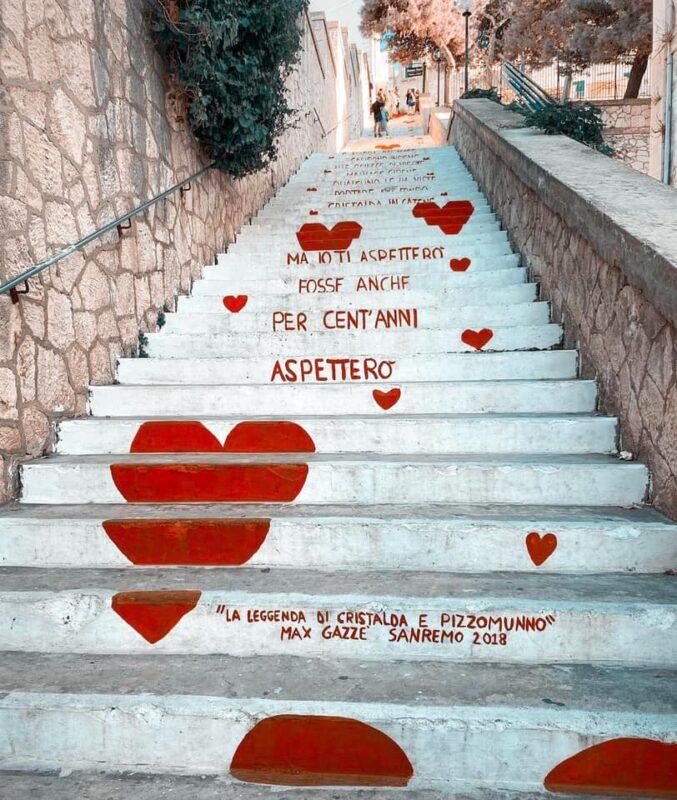 Stairway of Love, Vieste