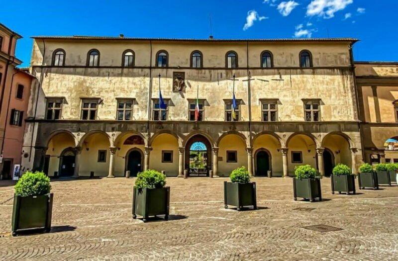 Viterbo - Il Palazzo dei Priori