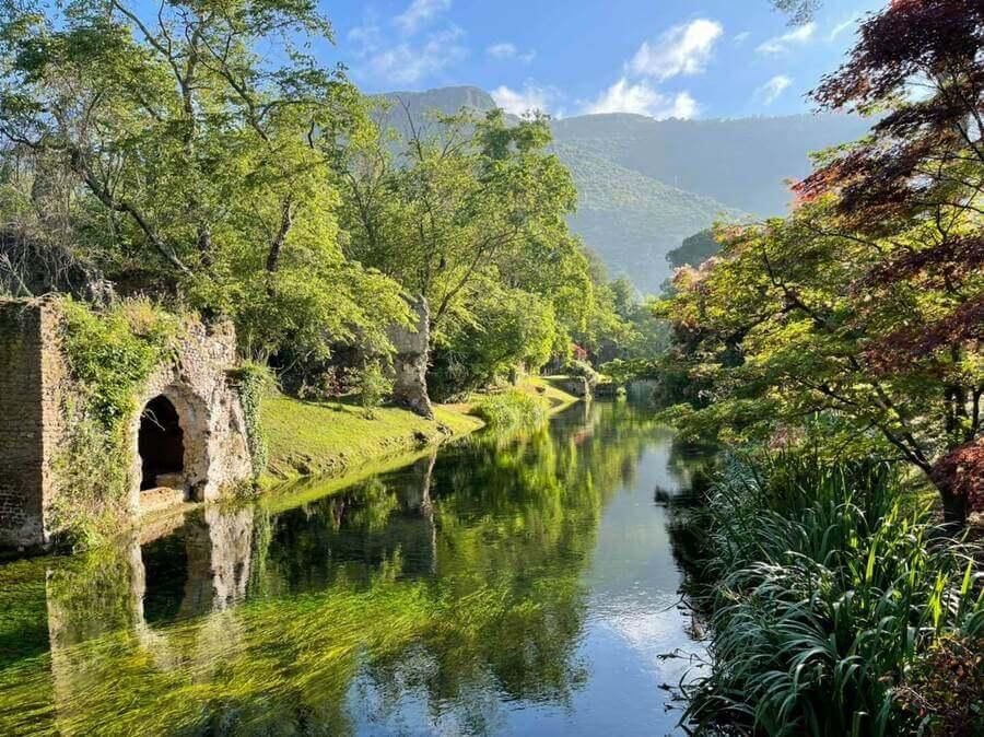 The Gardens Of Ninfa, Italy
